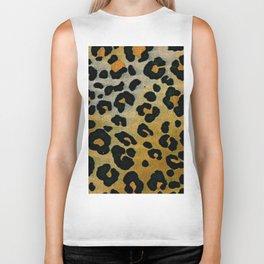 Cheetah Animal Pattern Print Biker Tank