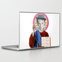 tom waits Laptop & iPad Skins featuring Tom Waits by Hilal Can