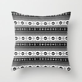Ugly Sweater Society6 Throw Pillow