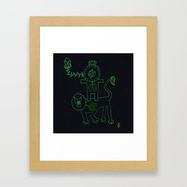 Auspicious Man Framed Art Print