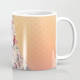 Origami Lady Coffee Mug