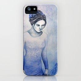 Blue Dress iPhone Case