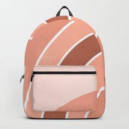 Rainbow arc - neutrals Backpack