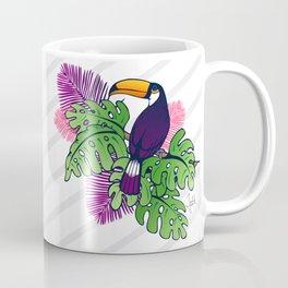 Tropical Toucan Design Coffee Mug