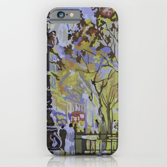 paint by numbers pattern iPhone & iPod Case