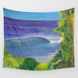 deep_water art Wall Tapestry