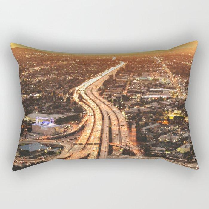 junction in los angeles Rectangular Pillow