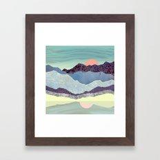 Summer Dawn Framed Art Print