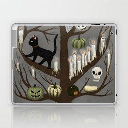 halloween tree Laptop & iPad Skin