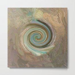 Abstract Mandala 252 Metal Print