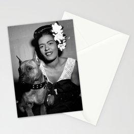 Billie Holiday : Lady Day & Her Mister Stationery Cards