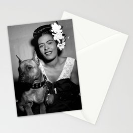 Billie Holiday : Lady Day & Her Mister Stationery Cards