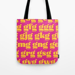 Type spacing 01 Tote Bag