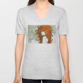 Postcard to a Lover Unisex V-Neck