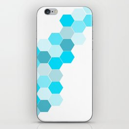 Honeycomb - Turq iPhone Skin