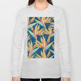 Strelitzia Pattern Long Sleeve T-shirt