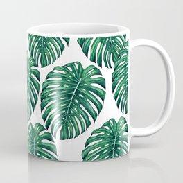 Monstera leaves Coffee Mug