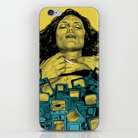 in the flesh iPhone & iPod Skins featuring New Flesh by Maritsa Patrinos