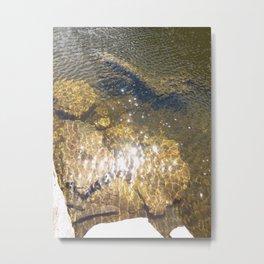 Light Touch Metal Print