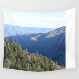 Rise up, oh mountain! Wall Tapestry