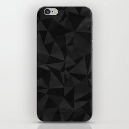 Dirty Dark Geo iPhone Skin