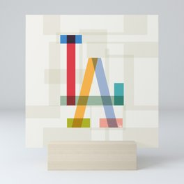LA Mini Art Print