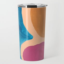 8| 190330 Abstract Shapes Painting Travel Mug
