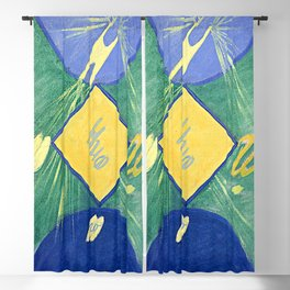 "Hilma af Klint ""Primordial Chaos No. 06, Group I"" Blackout Curtain"
