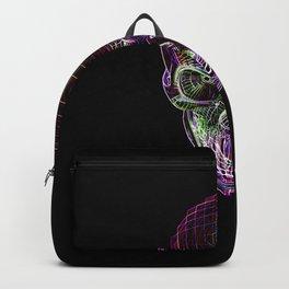 NEON SKULL/2 Backpack