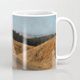 Ridgecrest Roads on Mount Tamalpais Coffee Mug