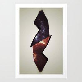 When Worlds Collide Art Print