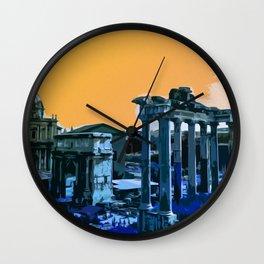 Twilight of the Gods on the Roman Forum Wall Clock