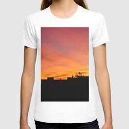 Orange Sunset over Madrid T-shirt