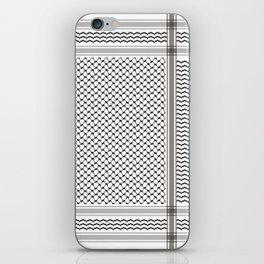 BLACK KOFIA iPhone Skin