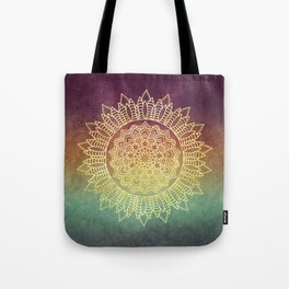Nature's Mandala Tote Bag
