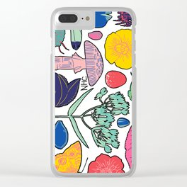 Bits and Pieces Clear iPhone Case