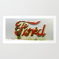 ford Art Prints featuring Ford by P.Andres