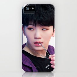 Woozi / Lee Ji Hoon - Seventeen iPhone Case