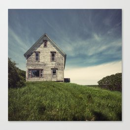 Forgotten in the Country Canvas Print