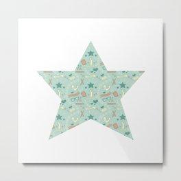 Empowering Star Metal Print