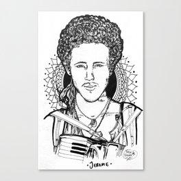 Traveller 1 - Jerome Canvas Print