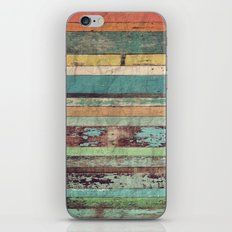 Wooden Vintage  iPhone Skin