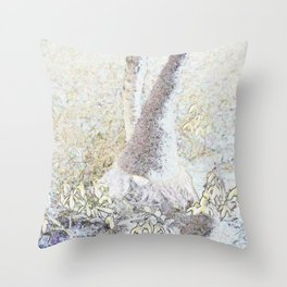 Spring's bound to come... Throw Pillow