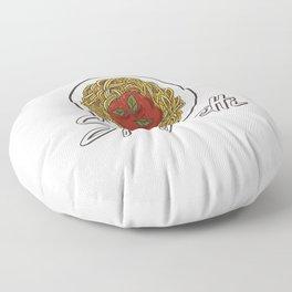 Just A Girl Who Loves Spaghetti Motive for a Spaghetti Lover Floor Pillow