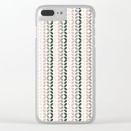 Boho 2 Clear iPhone Case