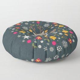 Ornaments Floor Pillow