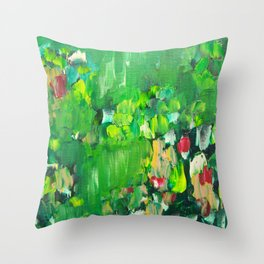 Abstract 19 Throw Pillow