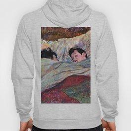 """Henri de Toulouse-Lautrec """"The Bed"""" Hoody"""