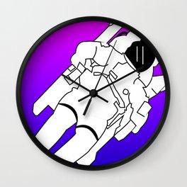 Bisexual Space Explorer Wall Clock