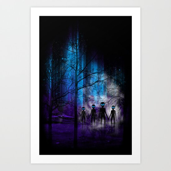 The Invaders Art Print
